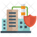 Industrial Security Protection Safety Icon