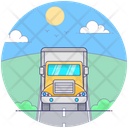 Industrial Trailer Icon
