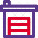 Industrial Warehouse Warehouse Storehouse Icon