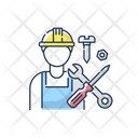 Industrial Worker Icon