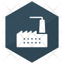 Industry Building Factory Icon