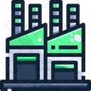 Industry Factory Plant Icon