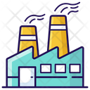 Power Plant Industry Factory Icon