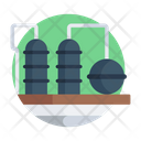 Industry Manufacturing Unit Power Plant Icon