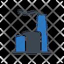 Refinery Plant Chimney Icon