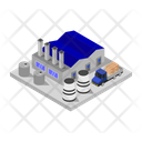 Industry Isometric Factory Icon