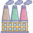 Factory Smart Factory Steel Factory Icon