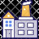 Industry Brick Building Icon