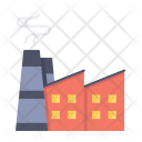 Industry Infrastructure Building Icon