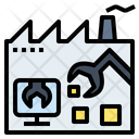 Automatic Factory Machine Icon