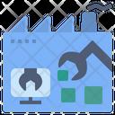 Automatic Factory Machine Icon