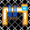 Industry Crane Building Icon