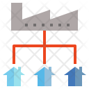 Distribution Move Factory Icon