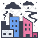 City Pollution Environment Icon
