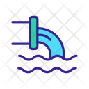 Environmental Pollution Water Icon