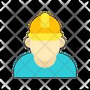 Industry Worker Worker Engineer Icon