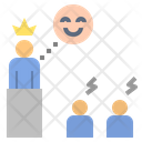 King Inequality Authority Icon