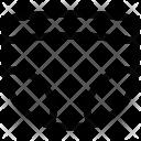 Infant skirt Icon