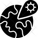 Global Virus Location Icon