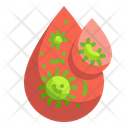 Infected Blood Virus In Blood Blood Icon
