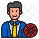 Doctor Virus Covid Icon