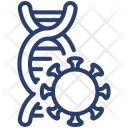 Infected DNA Icon