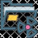 Crack Virus Attack Icon
