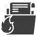 Folder Design Spyware Icon