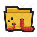 Worms Worm Attack Icon