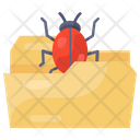 Infected File Infected Folder File Virus Icon
