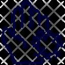 Hand Corona Virus Icon