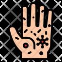 Infection Hand Virus Icon