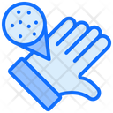Dirty Hand Hand Germs Icon
