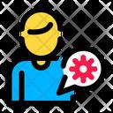 Virus Medical Health Icon