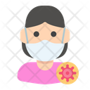 Infected Lady Icon