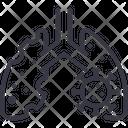Lung Virus Disease Icon