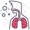 Lung Medical Health Icon