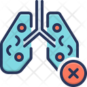 Infected Lungs Icon
