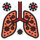 Infected Lung Infect Lungs Icon