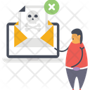 Infected Mail Icon