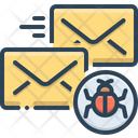 Infected Mail Infected Mail Icon