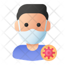 Infected Man Icon