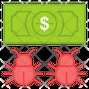 Infected Money Icon