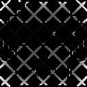 Infected Output Malware Printing Printer Virus Icon
