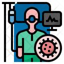 Infected patient Icon