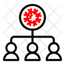 Infected People Icon