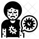 Infected Person Cell Virus Icon