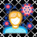 Microbe Human Bacteria Icon