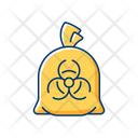 Infectious Waste Bag Icon