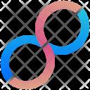 Infinity Logogram Shape Icon